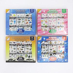 Fun Stickers Bumper Sticker Box 9 Reels Over 500 Stickers Children Birthday