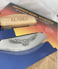 New Chopping Board - Bowl With Ulu Knife : The Traditional Cutlery Of Alaska
