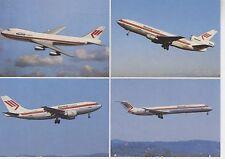 Postcard 1374 - Aircraft/Aviation Martinair Holland Boeing 747-200 C/Airbus A310