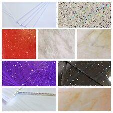White Black Red Purple Grey Beige Bathroom Panels Shower Wall Ceiling Cladding!