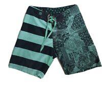 Springfield Men's Green Board Shorts Size 32