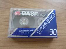 BASF CHROME EXTRA II 90 audiokassette cassette audio tape sealed
