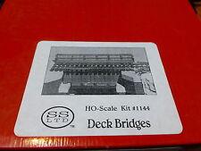 Scale Structures Ltd. #1144 Deck Bridge pkg(2) Kit (Unpainted) Each 3-1/2