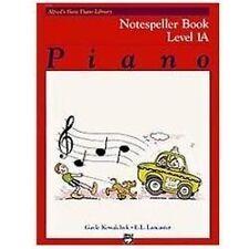Alfred's Basic Piano Library Notespeller, Bk 1A Kowalchyk, Gayle, Lancaster, E.
