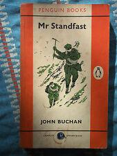 Penguin Book 1134 Mr Standfast by John Buchan 1956 Sinister Plots Secret Service