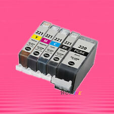 5 NON-OEM INK alternative for CANON PGI220 CLI221 PIXMA MP560 MP620 MP620B