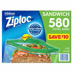 Ziploc Sandwich Bag (580 ct.) **BEST DEAL**