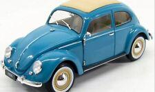 1:18 Maquette Volkswagen VW Beetle Vieux Classique 1950 Bleu 18040 Détail Split