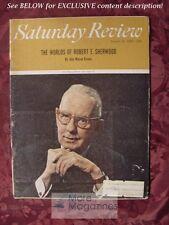 Saturday Review August 14 1965 ROBERT SHERWOOD JOHN MASON BROWN KENNETH REXROTH