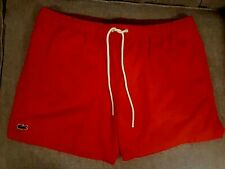 **** NEW MENS LACOSTE SWIMSHORTS SIZE XL ****