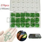 270*Green AC A/C System Air Conditioner Seals Washer Set Rubber Ring Repair Kit photo