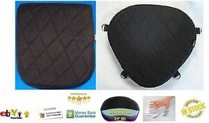 Motorcycle Driver & Passenger Seat Gel Pad Set Cushion for Victory Jackpot Model
