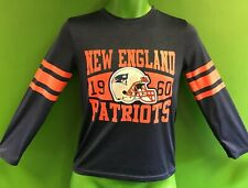 T585/160 NFl New England Patriots Wicking L/S T-Shirt Youth Medium 10-12
