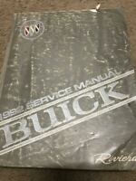 1992 BUICK RIVIERA Service Repair Shop Workshop Manual Factory OEM GM