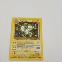Magneton 26/62 Non-Holo Rare Fossil Set Pokemon Card