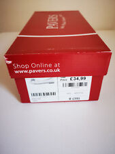 Women's PAVERS LEATHER Flats Slip On Shoes SIZE  6 UK (EUR39)