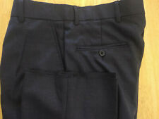 NWOT Brooks Brothers 1818 Madison Blue/Gray Flat Front Wool Pants W30 L36