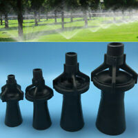 Plastic Eductor Nozzle Tank Eductor Garden Parts Tools Black 2/3/4/6 Inches