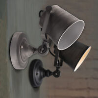 Vintage Retro Industrial Loft Rustic Wall Sconce Wall Lights Porch Lamp UK.