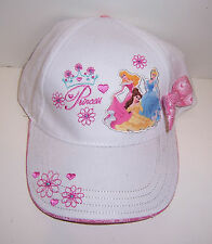 DISNEY PRINCESS Embroidered BASEBALL HAT Cap Belle Cinderella Sleeping Beauty