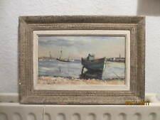 Huile sur toile Pierre BOMPARD peintre de la marine