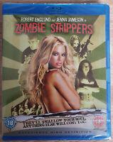Zombie Strippers Bluray Jenna Jameson Neu New Sealed Blu-ray Jeannette Sousa