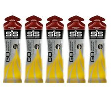 5 x SCIENCE IN SPORT SIS GO ISOTONIC CYCLING RUNNING ENERGY GEL - Chocolate