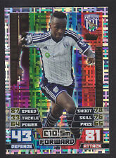 Match Attax 2014/2015 - Man of the Match - 398 S Berahino - West Bromwich Albion