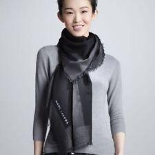 Marc Jacobs Neiman Marcus Target Cashmere Wool Blend Black Metallic Border Scarf