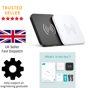 CHOETECH QI Fast Charging Wireless Charger 10W 7.5W 5W 2.5W 2-Pack