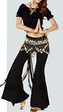 Belly Dance Costumes Dancing Wear Top Bra Training Short Sleeve Top