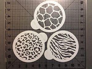 Animal Print Stencils