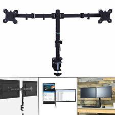 """13-27"""" Universal Dual Monitorständer PC Tischhalterung Halter Ständer schwenkbar"""