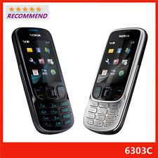 Unlocked Nokia Classic 6303 6303C 6303i - Black&Silver  Cellular Phone