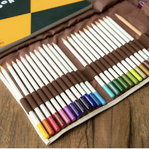 Tombow Colored Pencil 24  pcs limited Set Portable book case for outing sketches