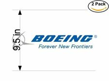 boeing company 2 Stickers 9.5 Inches Sticker Decal
