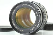 [Exc+5] Minolta MD TELE ROKKOR 100mm F2.5 Telephoto MF Lens From Japan