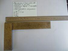 Pour collectionneur MESURES :Imposante EQUERRE (1231 g) Sheffield N°1970  UK