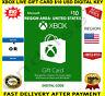 XBOX Live Gift Card $10 USD - XBOX ONE / XBOX 360 🔑 REGION USA ✅ FREE P&P 🎮