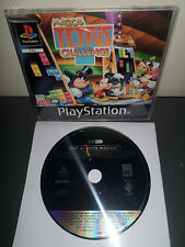 MAGICAL TETRIS CHALLENGE - Jeu PS1 PROMO ONLY NOT FOR RESALE RARE