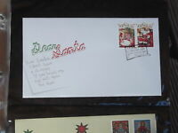 DEAR SANTA STAMPS 2010 AUSTRALIAN CHRISTMAS  FIRST DAY COVER