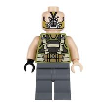 Lego Bane 76001 with One Light Flesh Hand Super Heroes Minifigure