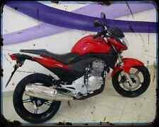 Honda Cb300R 10 03 A4 Photo Print Motorbike Vintage Aged