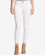 William Rast Women's Star White Skinny Ankle Crop Jeans Size 24 NWT $89!!