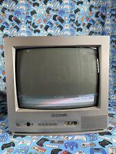 """Panasonic CRT 14"""" Colour TV Model TX-14JT1 Gaming Retro Scart TESTED Front AV"""