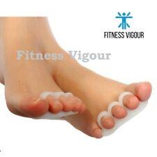 Toe Straightener Separators Hammer Alignment Bunion Pain Toe Claw Mallet UK 2 PC