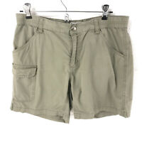 Columbia women's cargo shorts size small quick dry trail hiking tan sht11