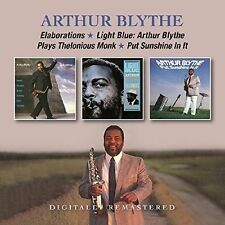 Arthur Blythe - Elaborations/Light Blue/Put Sunshine In It (2017)  2CD  NEW
