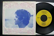 """7"""" Donovan-Lalena-USA EPIC W/pic"""