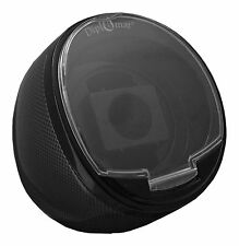 Diplomat Black Watch Winder Carbon Fiber Pattern Single Automatic Single